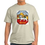 Snow Lion + Dharma Ash Grey T-Shirt