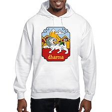 Snow Lion + Dharma Hoodie