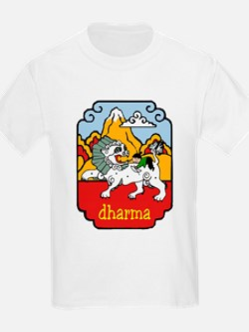 Snow Lion + Dharma Kids T-Shirt