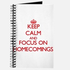 Cool Homecoming Journal