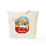 Snow Lion + Dharma Tote Bag