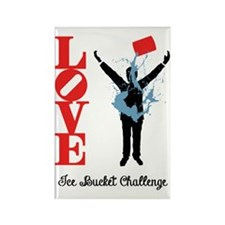 LOVE ICE BUCKET CHALLENGE Magnets