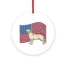 USA Lab Ornament (Round)