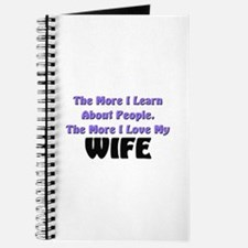more I learn about people, more I love my WIFE Jou