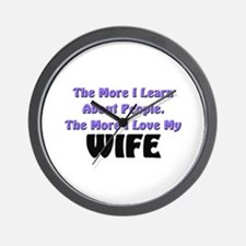 more I learn about people, more I love my WIFE Wal