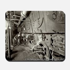 USS Massachusetts BB-2 Engine Room Mousepad