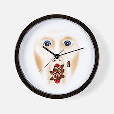 Cute House haunted Wall Clock