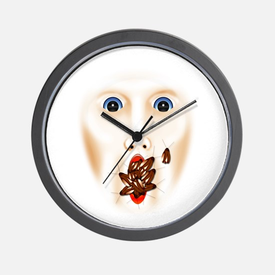 Unique Haunted house Wall Clock