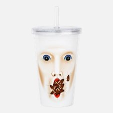 Funny Scary Acrylic Double-wall Tumbler