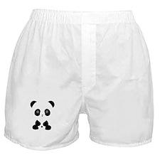 Cute Panda Bear Boxer Shorts