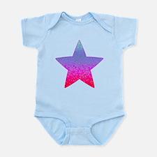Glitter Star Dust 12 Infant Bodysuit
