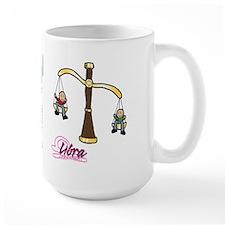 Cartoon Libra Mug
