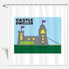Castle Dweller Shower Curtain