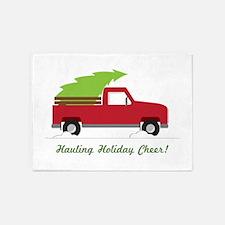 Hauling Holiday Cheer 5'x7'Area Rug
