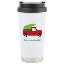 Hauling Holiday Cheer Travel Mug