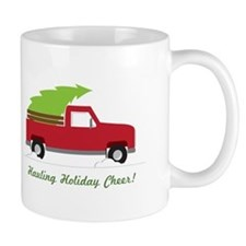 Hauling Holiday Cheer Mugs