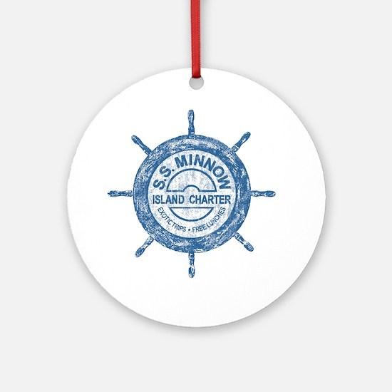 S.S. MINNOW ISLAND TOURS Ornament (Round)