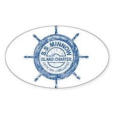S.S. MINNOW ISLAND TOURS Sticker