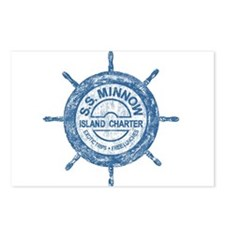 S.S. MINNOW ISLAND TOURS Postcards (Package of 8)