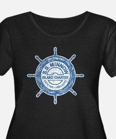 S.S. MINNOW ISLAND TOURS Plus Size T-Shirt