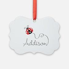 Ladybug Addison Ornament
