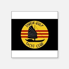 "Cute Tonkin gulf yacht club Square Sticker 3"" x 3"""