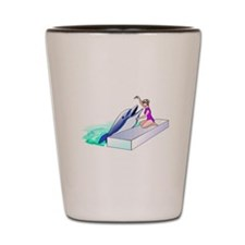 Dolphin Trainer Shot Glass