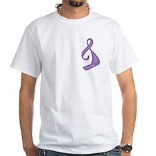 """""""Purple Ribbon Twist"""" Shirt"""
