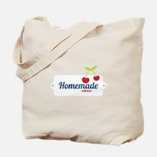 Homemade with Love Tote Bag