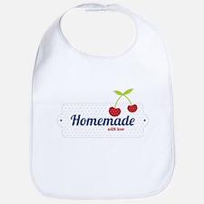 Homemade with Love Bib