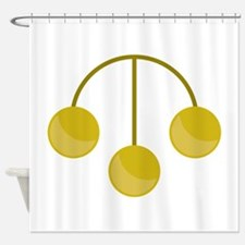 Pawnshop Gold Jewelry Shower Curtain