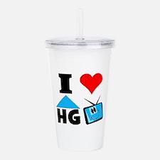 I Love Hgtv Acrylic Double-Wall Tumbler
