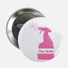 """Stay Spotless 2.25"""" Button"""