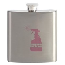 Stay Spotless Flask