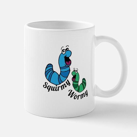 Squirmy Wormy Mugs