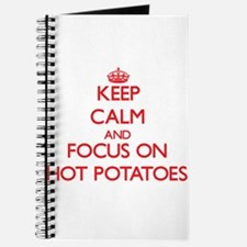 Cute I heart potato chips Journal