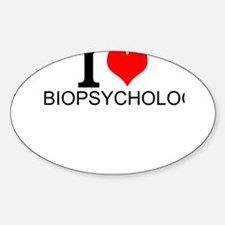 I Love Biopsychology Decal