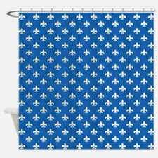 Funny Unique fleur de lis Shower Curtain