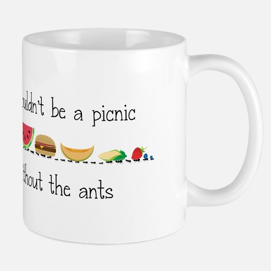 Without Ants Mugs