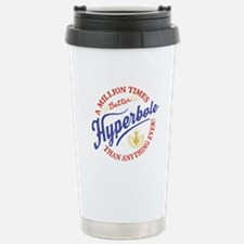 Hyperbole Stainless Steel Travel Mug