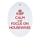 Real housewives Oval Ornaments