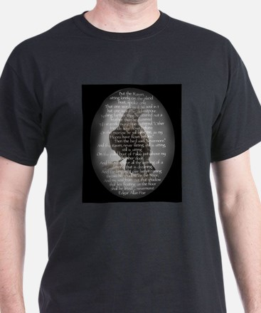 Edgar Allen Poe The Raven Poem T-Shirt