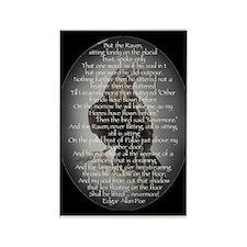 Edgar Allen Poe The Raven Poem Magnets
