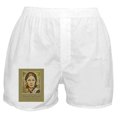 Florence Lady with Lamp Boxer Shorts