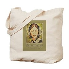 Florence Lady with Lamp Tote Bag