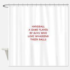 handball Shower Curtain