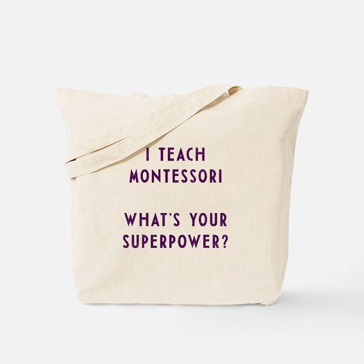 Cute Montessori Tote Bag