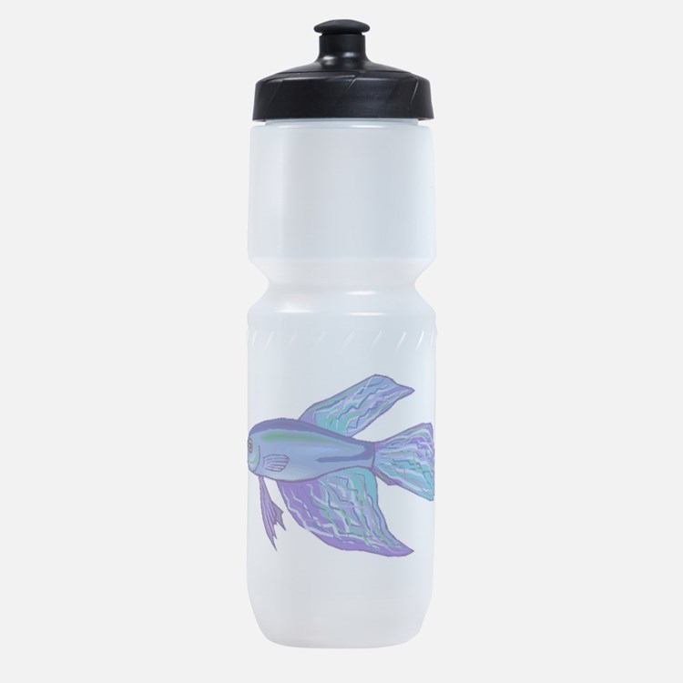 Blue Betta Fish Sports Bottle