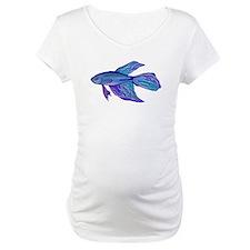 Blue Betta Fish Shirt