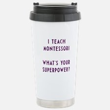 Cool Superpowers Travel Mug